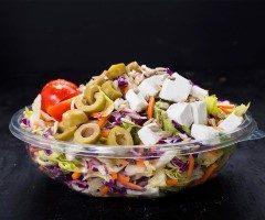 סלט ירקות וגבינה בולגרית 330 גרם